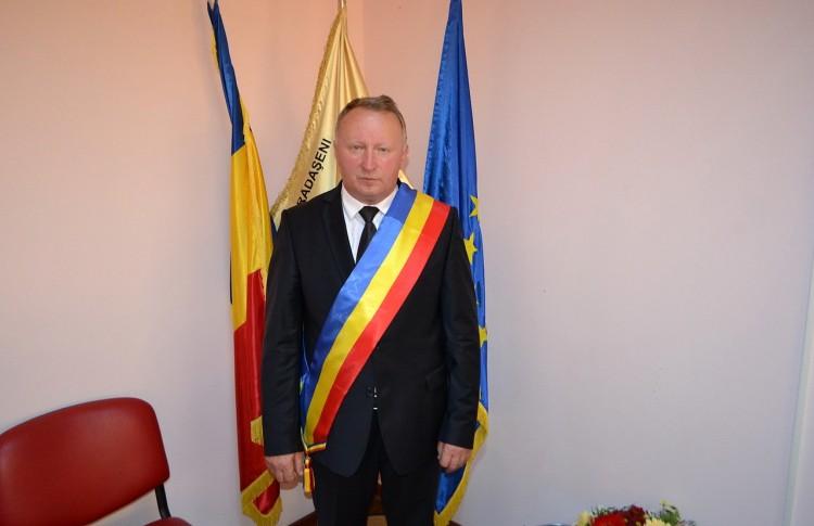 Neculai Perju și-a început al doilea mandat de primar