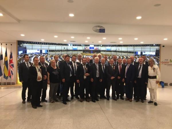 Primarul Neculai Perju s-a aflat în vizită de lucru la Parlamentul European din Bruxelles