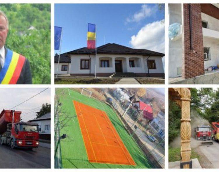 Administrație de succes la Rădășeni! Investițiile atrase în mandatele primarului Neculai Perju